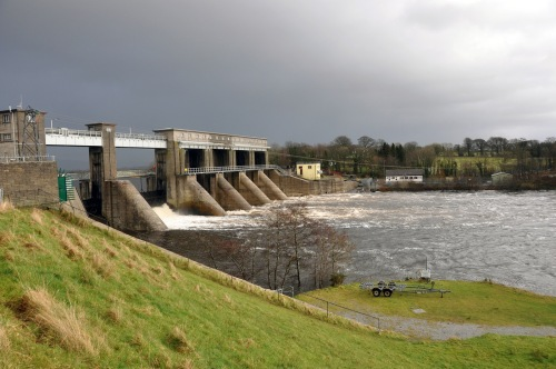 Parteen Weir, River Shannon, February 2014