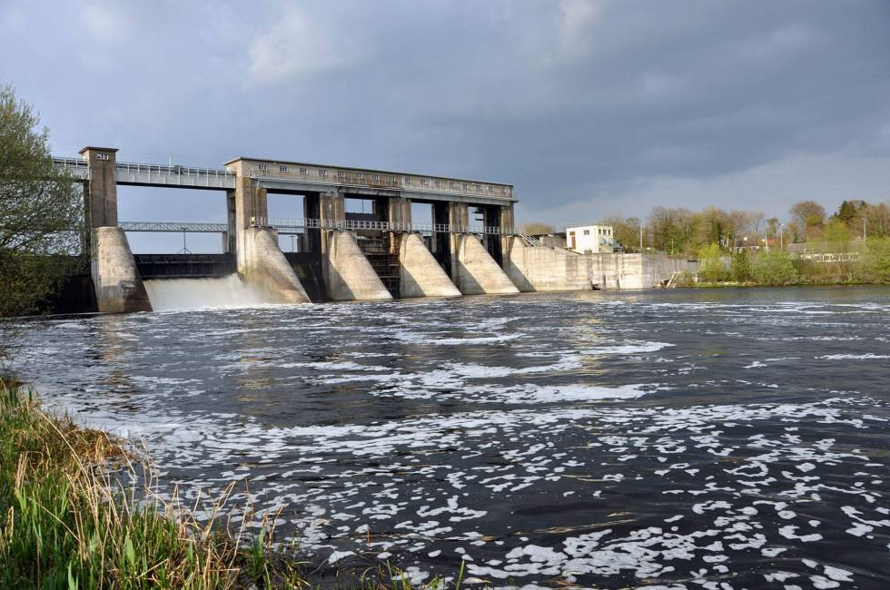 Parteen Regulating Weir, Lower River Shannon