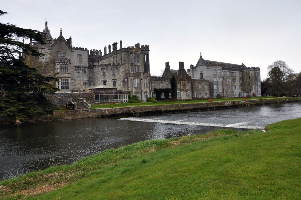 River Maigue, Adare, Co Limerick. No elver monitoring traps operational by mid-April 2015.