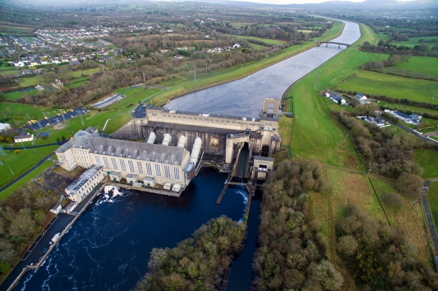 Ardnacrusha Hydroelectric Station, December 2015.